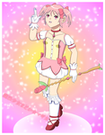 Madoka for a Contest by ErinPrimette
