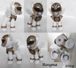 White MMPR by Roogna