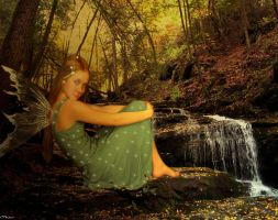 Green Fairy by maiarcita