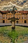 Fountain in Melk by brijome
