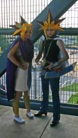 Yami Yugi and Atem: AWA 2013 by AtemuMustang