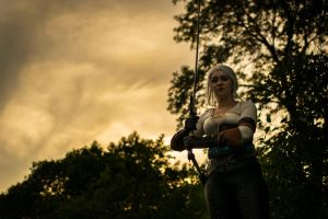 Ciri from The Witcher by Valkyrie Cosplay by YGKtech