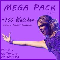Mega Pack de +100 Watchers by berkaydirik