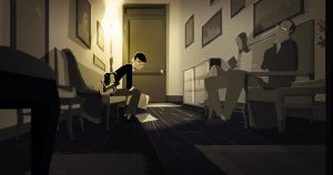 The Waiting room by PascalCampion