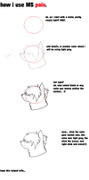 how i draw :request by or3o: by shibuya-chan