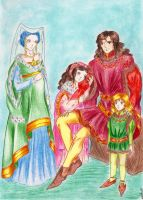 Royal family by DraconsSon