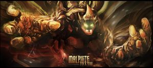 Malphite - League Of Legends by MuRiKbr
