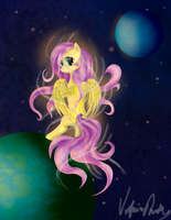Astral Fluttershy by Lillius-Macrin