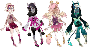 Set Price Adopts [3/4 OPEN] by caitiecat-adopts