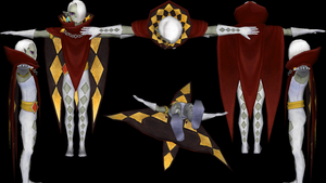 Ghirahim with Mantle reference by ShrubbyNerb