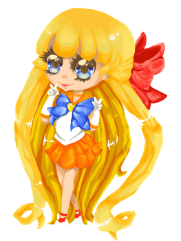 chibi sailor venus by willinalp