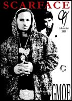 G-MOE and Scarface by Cahnartist