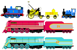 King of the Railway sprites V2 by JamesFan1991