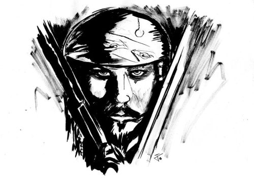 Captain Jack Sparrow by Uverion
