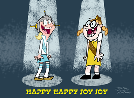 Mighty B - Happy Happy Joy Joy by ryuuseipro