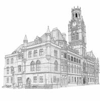 Barrow Town Hall by Colin-Bentham