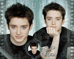 Elijah Wood by Chernakova-Juliya