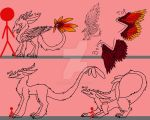 Blossom Dragon reference sheet (Open species!) by Darkfury1087