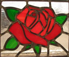 Rose Stained Glass by AutobotWonko