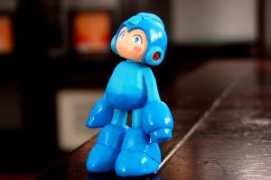 My first Mega Man figure by jaimito