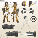 RWBY Concepts : OC - Siy by dishwasher1910