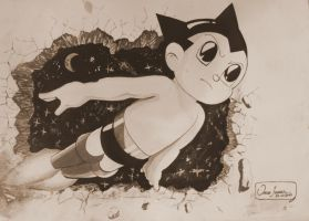 Astro boy by Oscarliima