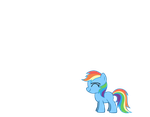 Filly Rainbow dash by TinandBubbles