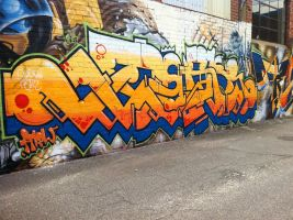 Alleyways 12 by PerthGraffScene