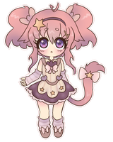 -AUCTION- Sweet Neko Girl -CLOSED- by MichibanCupcakes