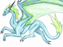 Green Dragon by AutumnDragon1172