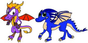 Spyro and Sonic Switched by Spyro9