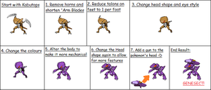 From Kabutops to Genesect by WeegeeDude