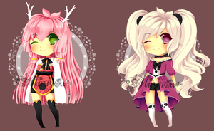 Kemonomimi Adoptables 2 [Closed] by Minrii