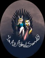 Fionna Game of Thrones cross by b-inky