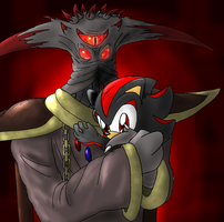 Father 'n son by Jessica-the-Hedgehog