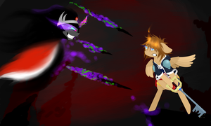 Request: Sora vs Sombra by Lucky-Jacky