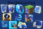 Luna Icon Pack by Spaceisthelimit