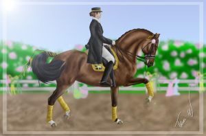 Easter Dressage Event by Shangol