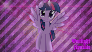 Twilight Sparkle Wallpaper by DannyScratch