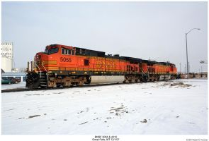 BNSF 5055 and 4310 by hunter1828