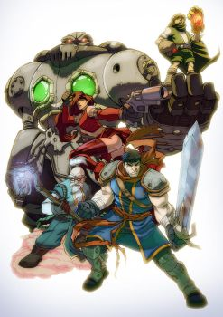 Battle Chasers Final by yinfaowei