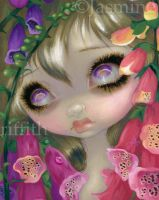 Poisonous Beauties IX:  Foxgloves by jasminetoad