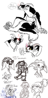 Guild Wars 2 doodles by Spoonfayse