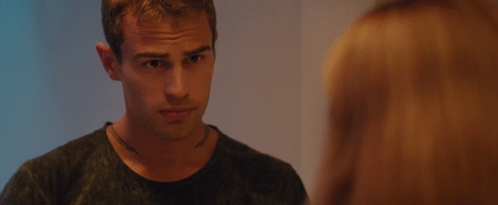 Four and Tris Divergent Gif 39 by TheHatterCrazy