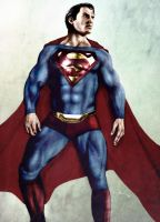 The Man of Steel by vicariou5