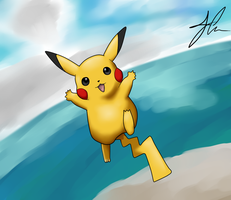 Pikachu by The-Bomb-Dot-Com