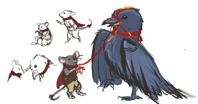 Some idea sketches by DrawMeATale