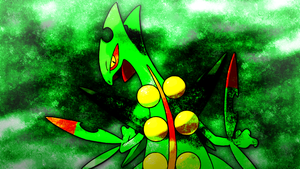 Mega Sceptile Wallpaper 2 by Glench