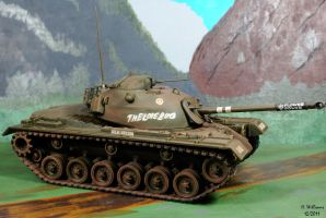 M48A2 Patton Tank by 12jack12