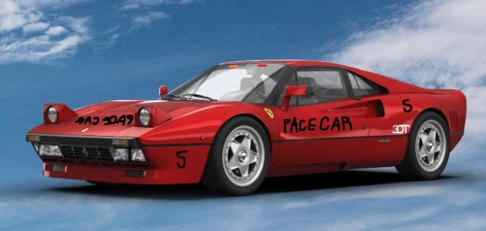 288 GTO Pace Car by bhw2279